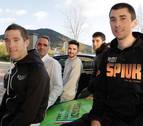 Óscar y Sergio Rodríguez, Txoperena y Sanz, energía navarra para el Euskadi-Murias