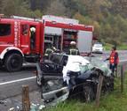 Continúa la investigación del accidente con dos fallecidos de la N-121-A en Oieregi
