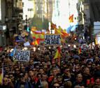 Miles de policías y guardias civiles se manifiestan por