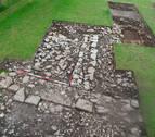 Descubren muros de una época anterior al santuario de Aralar