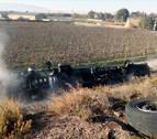 Septuplica la tasa de alcohol e incendia su camión en un accidente en Tudela