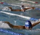 Anaitasuna celebró la segunda jornada de la liga infantil de natación