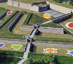 Pamplona crea este lunes otros cuatro jardines efímeros asociados a valores