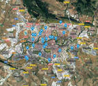 MAPA INTERACTIVO | ¿Dónde están situados los 'pipicanes' de Pamplona?
