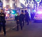 La policía de Londres no halla evidencias de un tiroteo en el incidente del metro
