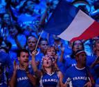 Francia, a una victoria de su décima Copa Davis tras ganar el dobles
