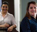 Irene Puyada (Sannas) y Elisa Genua (Schneider Electric), premio empresaria y directiva