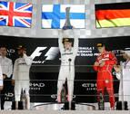 Bottas ganó el Gran Premio de Abu Dabi, el último del Mundial de Fórmula Uno