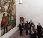 Una parte del cine Príncipe de Viana renace en el Palacio de Condestable