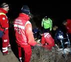Localizada con síntomas de hipotermia la mujer de 85 años desaparecida en Cascante