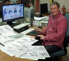 El ilustrador navarro Alfredo Goñi explica cómo vivió el juicio de 'La manada'