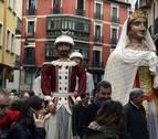 Este es el recorrido que harán los gigantes este sábado en Pamplona