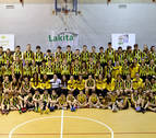 Cerca de 150 deportistas dan vida a la sección de baloncesto de Lagunak
