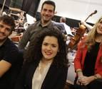 Los jóvenes navarros que tocan con la Orquesta Sinfónica de Navarra