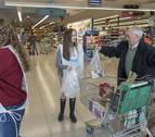La aportación ciudadana al Banco de Alimentos se dispara en la última década