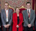 Irujo y Barriola reciben la medalla de oro al mérito deportivo