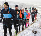 Sola y García se imponen a la nieve de Arróniz