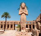 Hallan 27 estatuas de la diosa faraónica de la guerra Sejmet en Luxor
