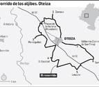 Recorrido señalizado de 19 km por los siete aljibes reconstruidos en Oteiza