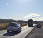 El vial del Ramal reducirá el paso de 360 vehículos/hora por el centro de Lodosa