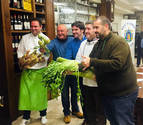 Tudela promociona en San Sebastián sus VI Jornadas de Verduras de Invierno