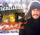 Agenda cultural de Navarra en vídeo hasta el domingo 10 de diciembre