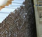 Desmantelan una fábrica ilegal de tabaco que producía dos millones de cigarrillos al día