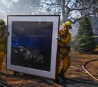 Los incendios de California alcanzan a las millonarias mansiones de Bel Air