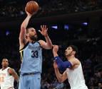 Los Grizzlies caen pese a Marc Gasol y Spurs y Cavaliers vuelven a ganar