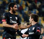El navarro Raúl García mete al Athletic en dieciseisavos de final de la Europa League