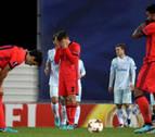 La Real Sociedad se diluye en la segunda mitad y el Zenit confirma el liderato