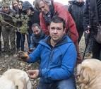 La campaña trufera arranca a pie de Lóquiz con el kilo a 700 euros