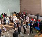 El Pirineo navarro se reúne en un mercado en Burguete