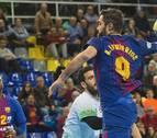 El Anaitasuna cae en el Palau Blaugrana tras plantar cara alBarça Lassa