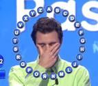 El concursante que se emocionó al cumplir su sueño de jugar en Pasapalabra