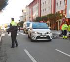 Una ciclista menor, herida al ser atropellada en un paso de peatones en Pamplona