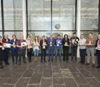 El Gobierno foral premia a 16 personas por su dedicación al trabajo autónomo