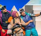 Civivox San Jorge acoge este sábado una doble función de la obra 'Mendi tontorrean'