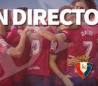 Así les hemos contado el empate entre Osasuna y Numancia