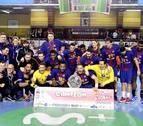 El Barcelona gana su decimotercera Copa ASOBAL