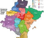 El cuatripartito respalda el proyecto de reforma del mapa local de Navarra