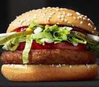 ¿Con qué ha hecho McDonald's su nueva hamburguesa vegana?
