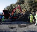 Comienza la reparación de la carretera a San Cristóbal