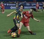 La selección navarra cayó ante una Cataluña de primer nivel
