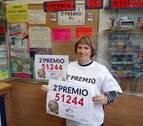 La Lotería de Navidad reparte más de un millón de euros en Navarra