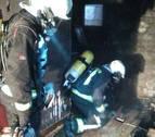 Un incendio afecta a 2 plantas de una vivienda en Irurita