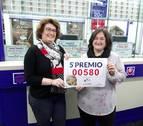 El 580, sexto quinto premio, deja 12.000 euros en Cintruénigo y Pamplona