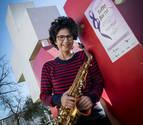 Una saxofonista pamplonesa recuperada de un cáncer organiza un recital solidario