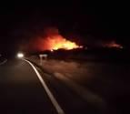Un incendio quema siete hectáreas en Tudela