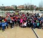 Tudela 'dona' kilómetros de solidaridad